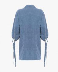 stacey shirt blue belakang